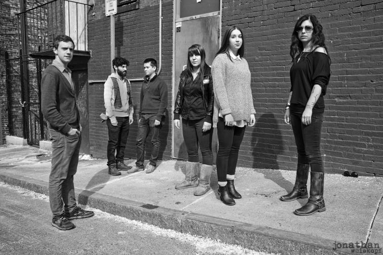 The 2014 Berklee Poetry Slam Team. [photo by Jonathan Weiskopf.]